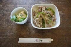 焼肉丼&ポテトサラダ
