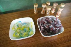 熱中症対策のレモン塩飴とカリカリ梅