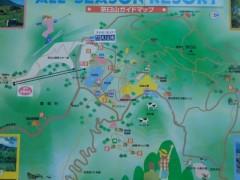 茶臼山案内図
